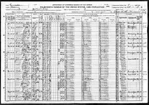 1920 US Census for JohnGilliam