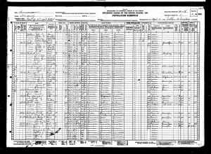 !930 US Census John F Gilliam
