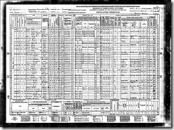 Mills Floyd Anne and Dalsie 1940 United States Federal Census