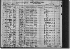Mills Floyd Milton Mildres Lunie 1930 United States Federal Census