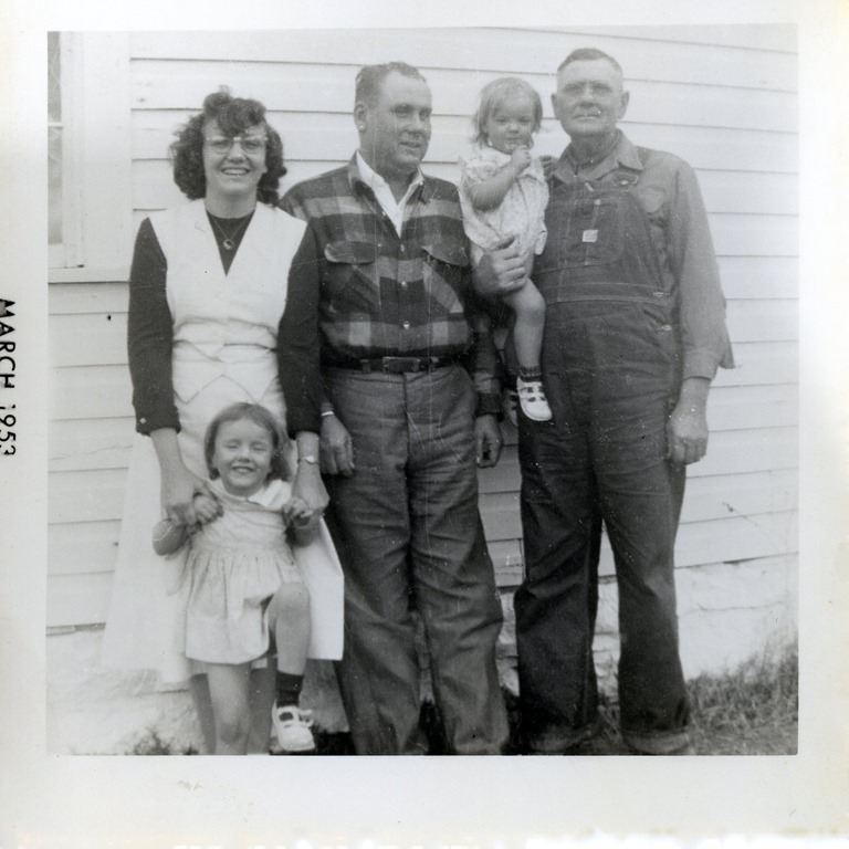 I think that this Mills LtoR Dalsie with Jo Floyd and Milton with Jacq  March 1953